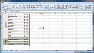 003 Sensational Income Statement Format In Excel With Formula Sample 320