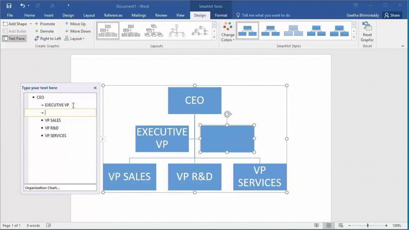 003 Sensational Organizational Chart Template Word Sample  2010 2007 Free Download1400