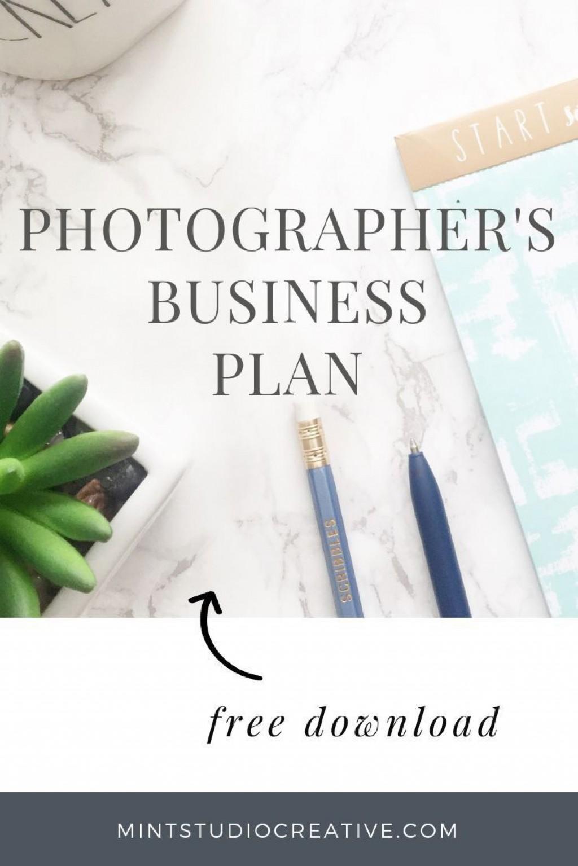 003 Sensational Photography Busines Plan Template Free High Resolution  Sample Doc DownloadLarge