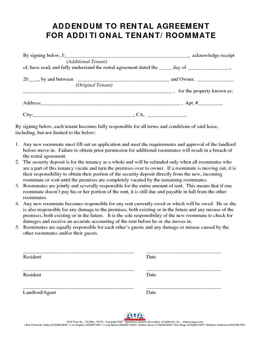 003 Sensational Rental Agreement Contract Free Download Picture  Tenancy Form Uk House EquipmentFull
