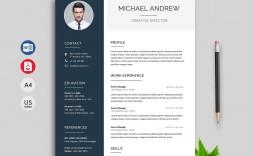 003 Sensational Word Resume Template 2020 Idea  Microsoft M