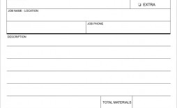 003 Sensational Work Order Form Template Sample  Templates Excel Advertising Company Blank