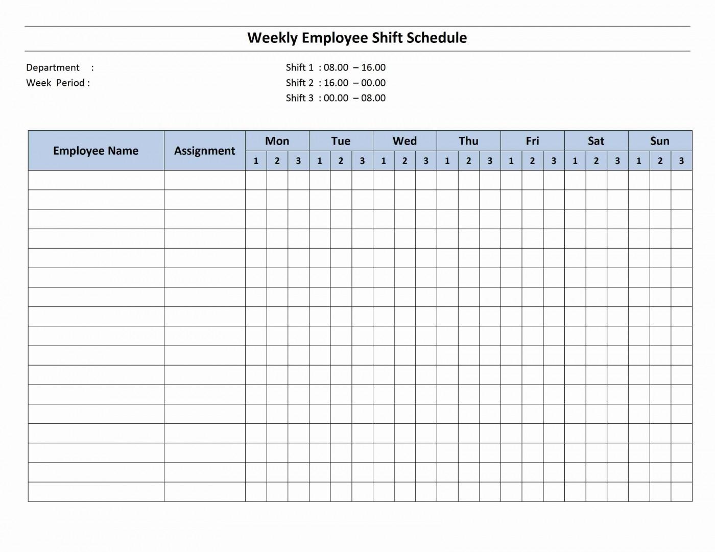 003 Sensational Work Schedule Calendar Template Excel Image 1400