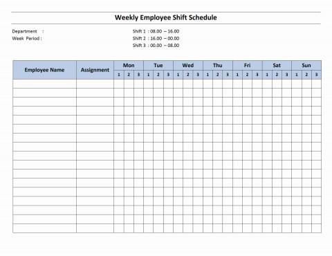 003 Sensational Work Schedule Calendar Template Excel Image 480