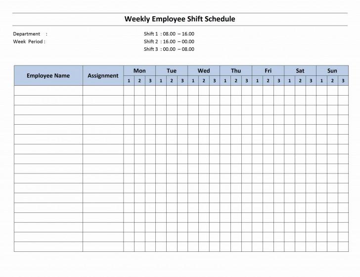003 Sensational Work Schedule Calendar Template Excel Image 728