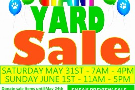 003 Sensational Yard Sale Flyer Template Example  Free Garage Microsoft Word