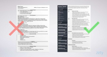 003 Shocking 1 Page Resume Template Highest Quality  One Microsoft Word Free For Fresher360