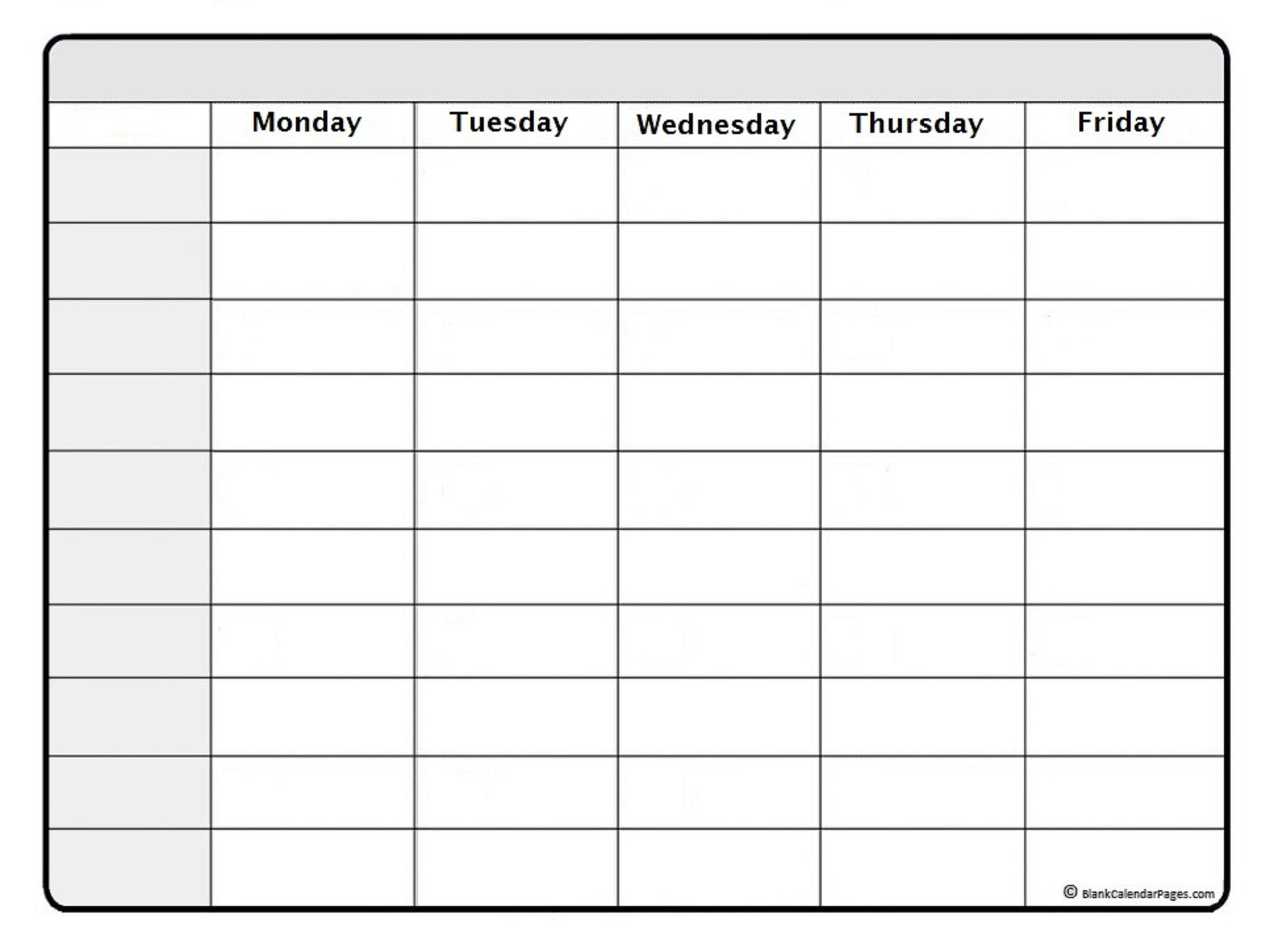003 Shocking Blank Weekly Calendar Template Picture  Word Microsoft 2019Full