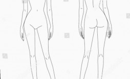 003 Shocking Body Template For Fashion Design Highest Quality  Female Male Human