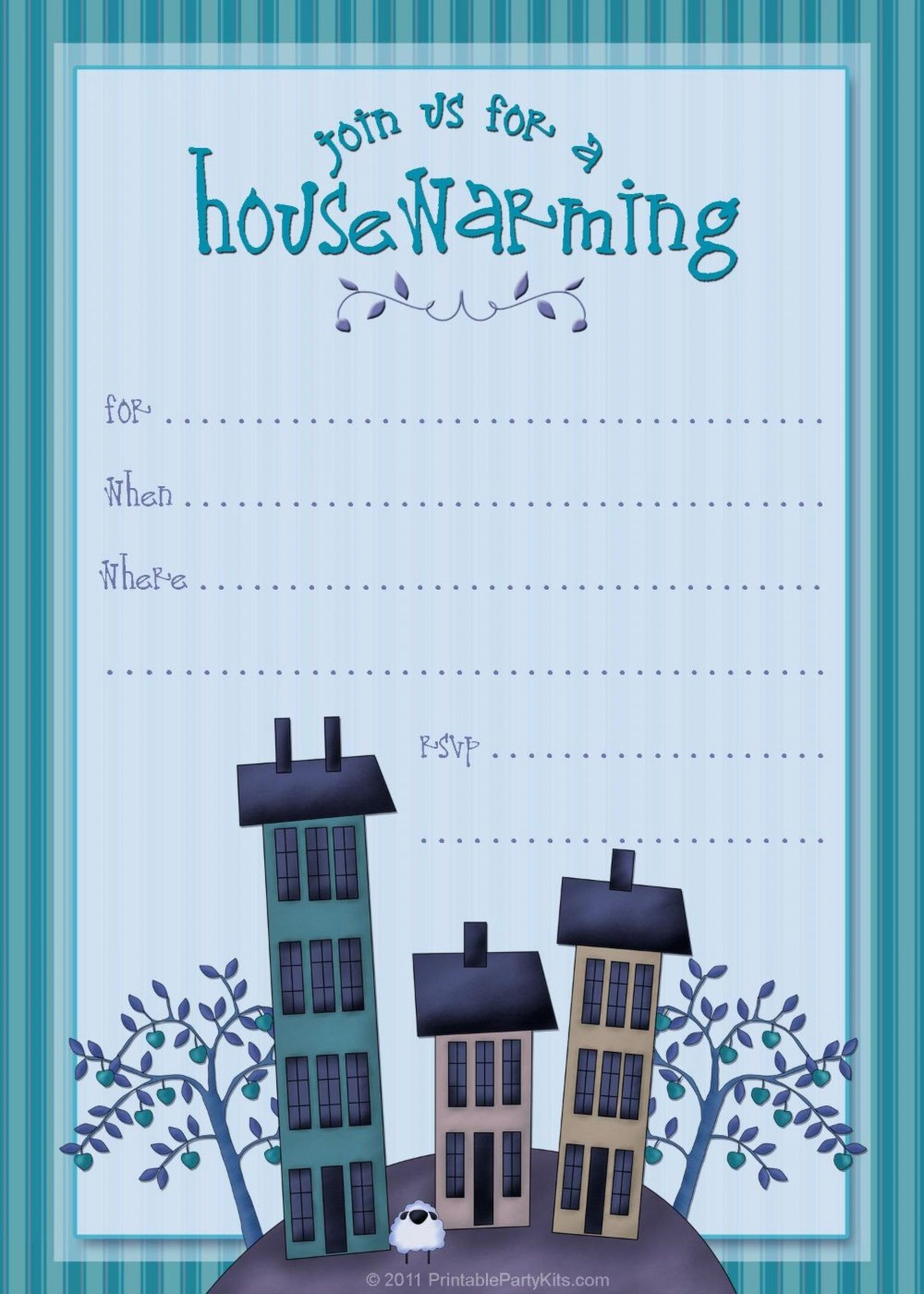 003 Shocking Free Housewarming Invitation Template Photo  Templates Printable India Video Download1920