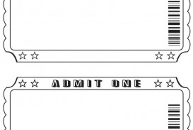 003 Shocking Free Printable Ticket Template Highest Quality  Editable Airline Christma For Gift