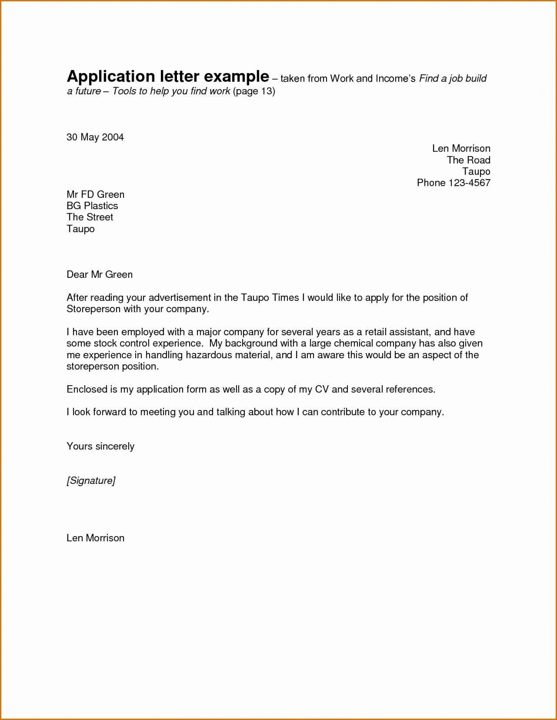 003 Shocking Good Cover Letter Example Download Inspiration  Word1920