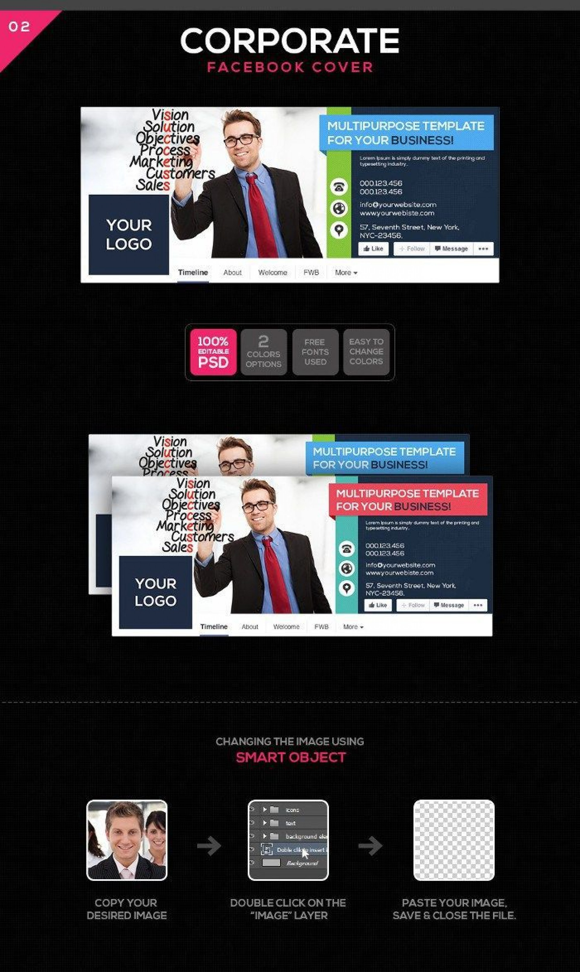 003 Shocking Iran Free One Page Psd Website Template Highest Clarity 1920