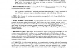 003 Shocking Service Contract Template Word Concept  Agreement Format In Microsoft