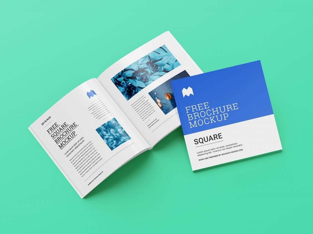 003 Shocking Square Brochure Template Psd Free Download Highest Clarity Large