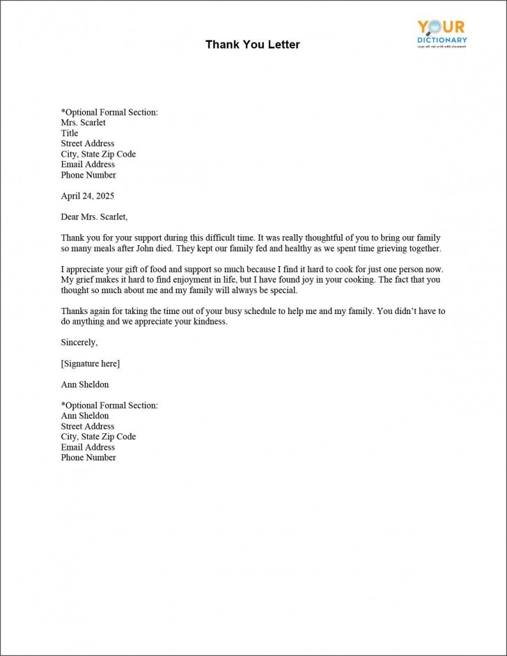 003 Shocking Thank You Letter Template Picture  Donation Word Printable Format Pdf728
