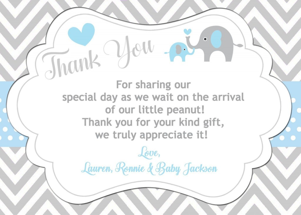 003 Shocking Thank You Note Template Baby Shower High Def  Card Free Sample For Letter GiftLarge