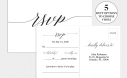 003 Shocking Wedding Rsvp Card Template Highest Clarity  Templates Invitation Menu Free Printable