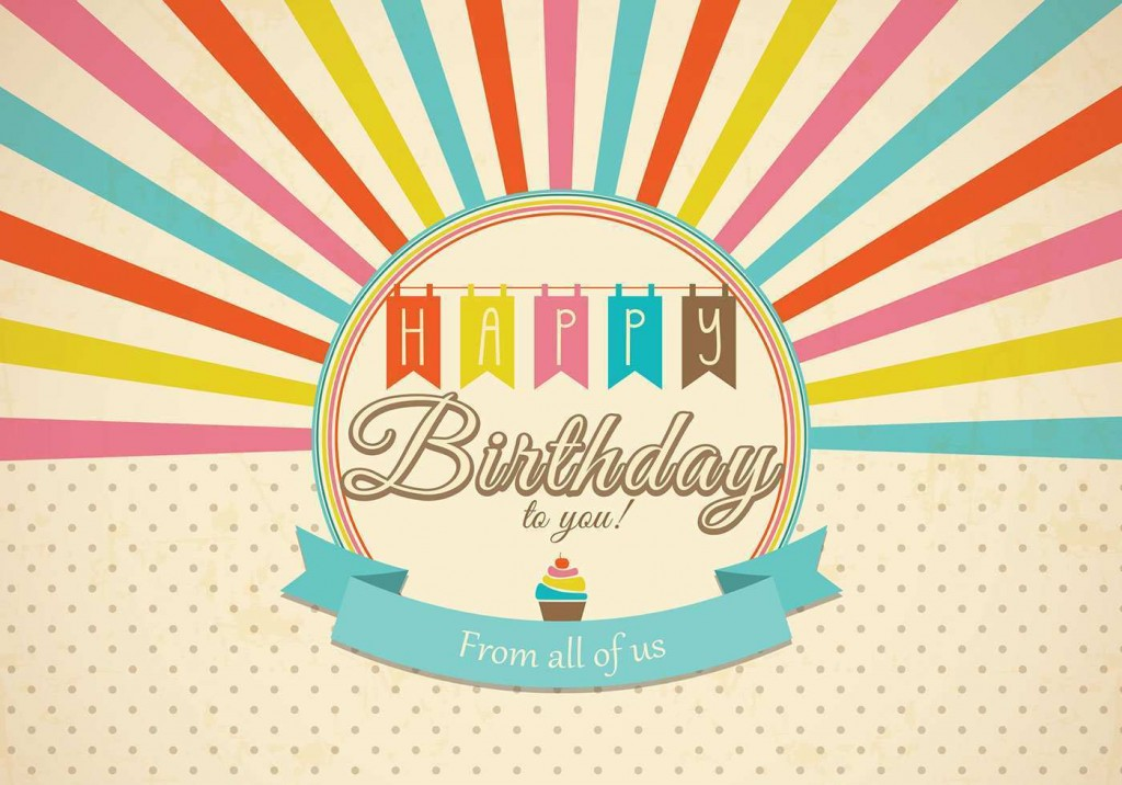 003 Simple Birthday Card Template Photoshop Idea  Greeting Format 4x6 FreeLarge