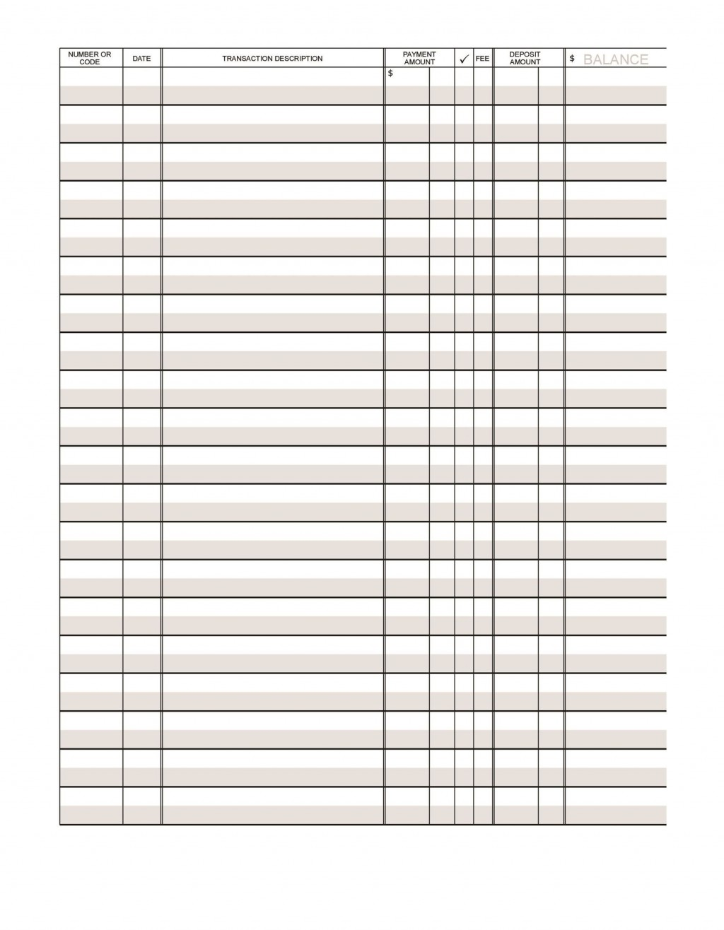 003 Simple Checkbook Register Template Excel High Definition  Check 2007 Balance 2003Large