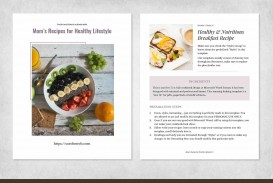 003 Simple Create Your Own Cookbook Template Photo  Free