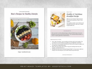 003 Simple Create Your Own Cookbook Template Photo  Free320