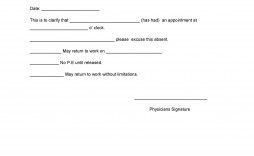 003 Simple Doctor Note For Missing Work Template Example  Doctor'