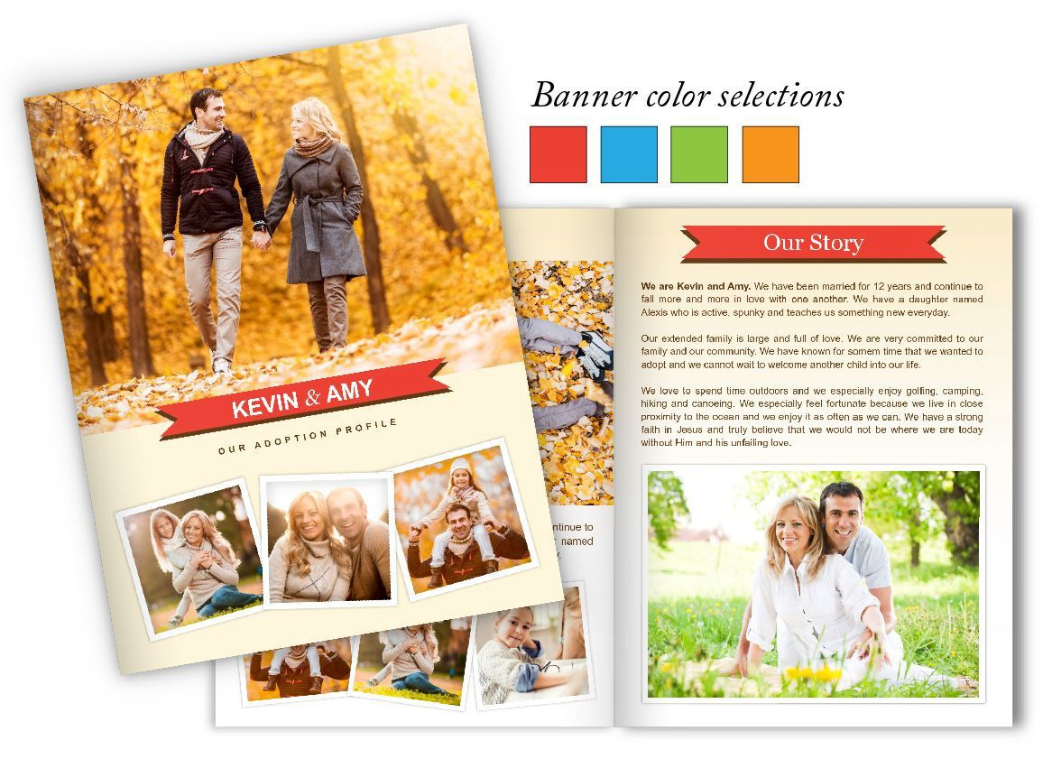 003 Simple Family History Book Template Highest Clarity  Sample Writing AFull