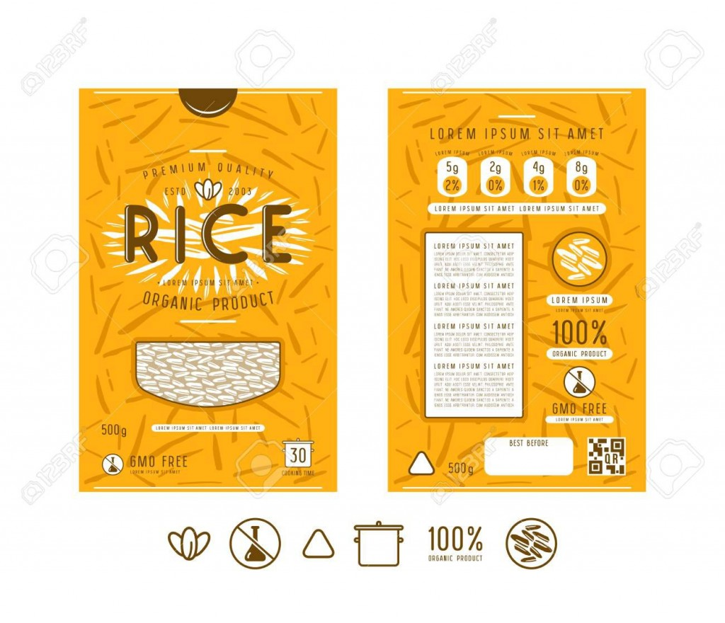 003 Simple Free Food Label Design Template Highest Quality  Templates DownloadLarge