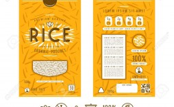 003 Simple Free Food Label Design Template Highest Quality  Templates Download
