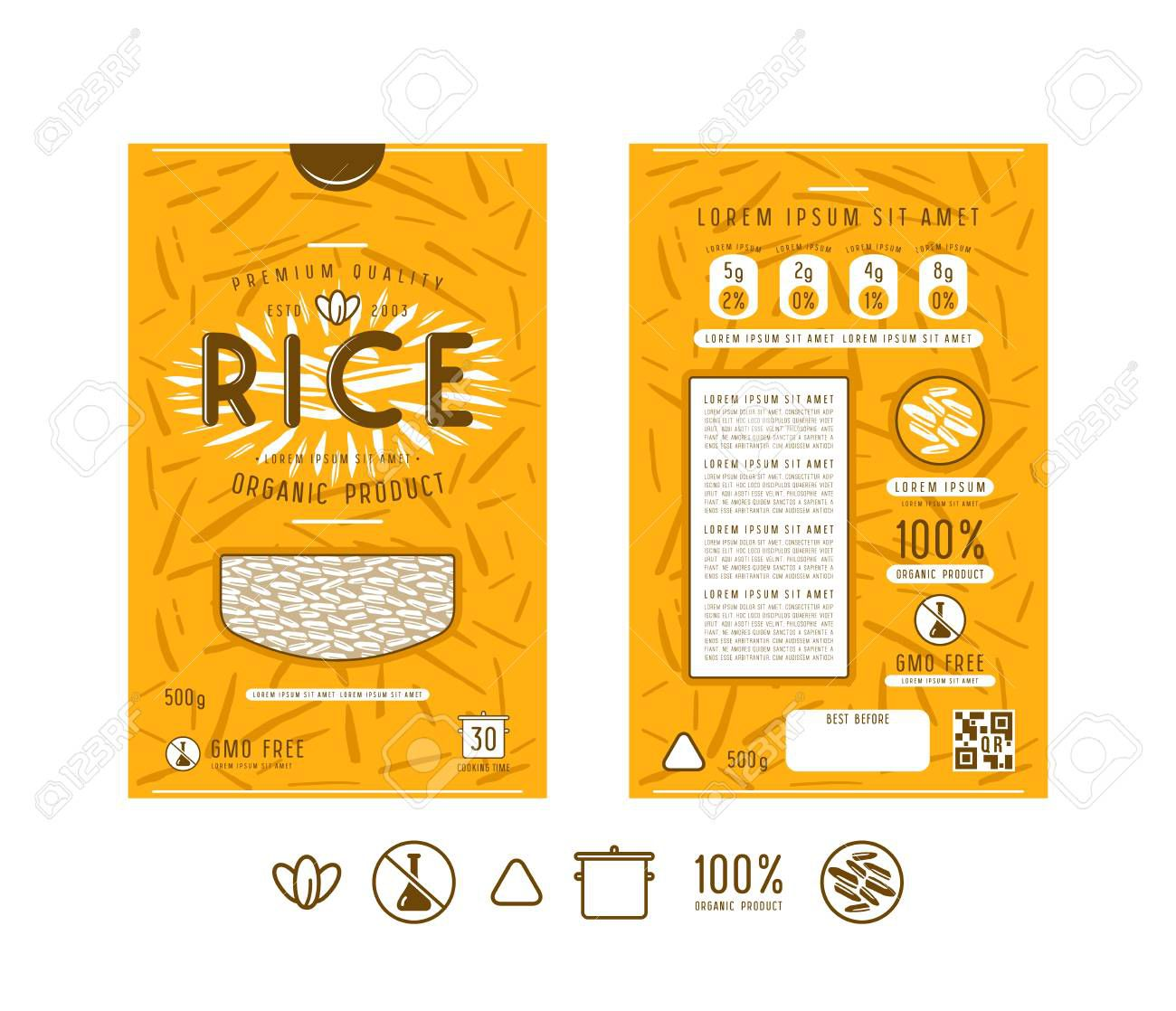 003 Simple Free Food Label Design Template Highest Quality  Templates DownloadFull