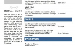 003 Simple Free Printable Resume Template Word Idea  Microsoft