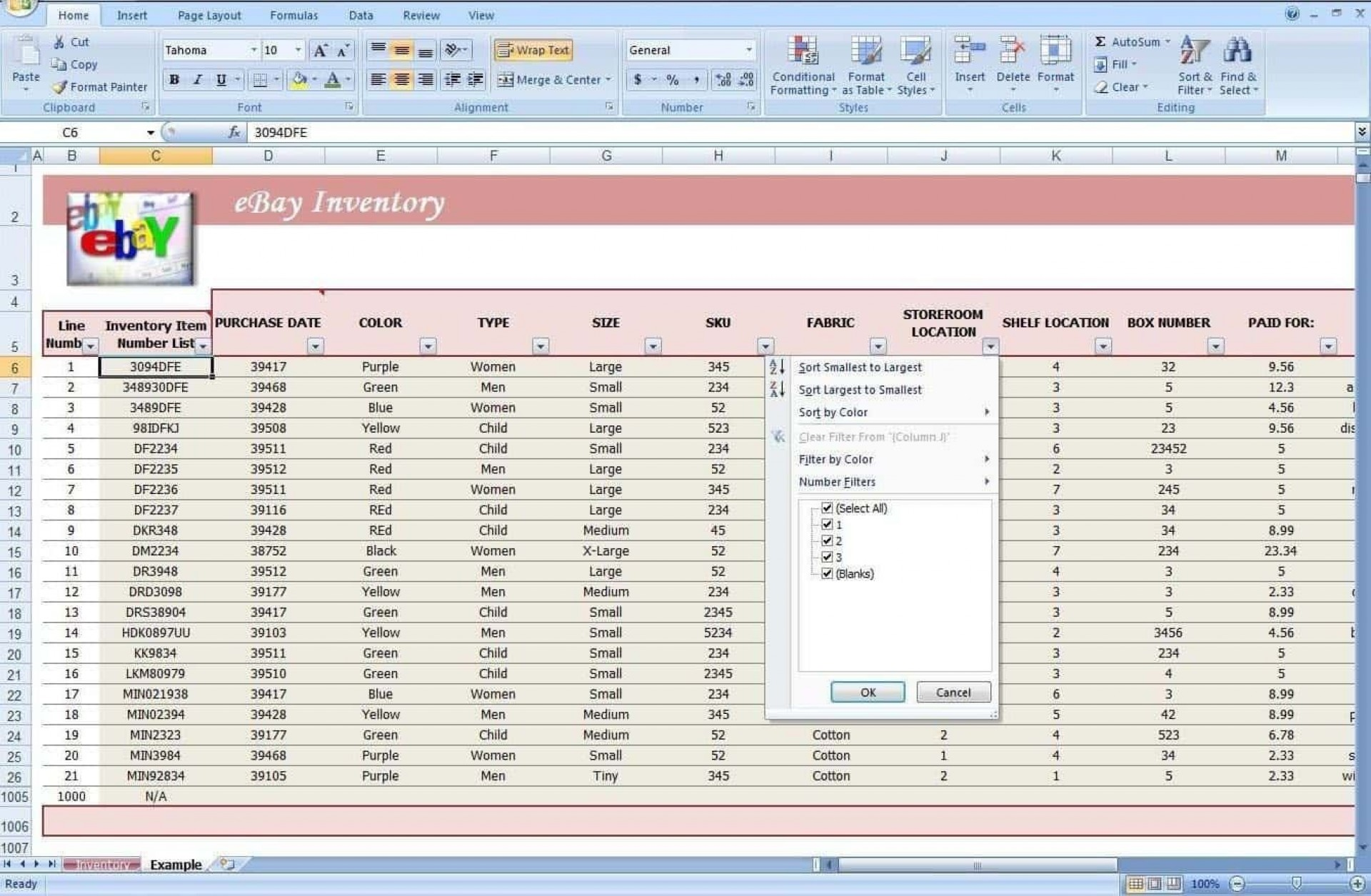 003 Simple Free Stock Inventory Spreadsheet Template Photo 1920