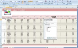 003 Simple Free Stock Inventory Spreadsheet Template Photo