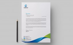 003 Simple Letter Pad Design Template Inspiration  Letterhead Download Ai Free In Word