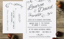 003 Simple M Word Invitation Template Photo  Microsoft Card Wedding Free Download Editable