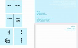 003 Simple Quarter Fold Card Template Publisher Highest Clarity