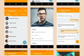 003 Singular Android App Design Template High Definition  Free Sketch Ui