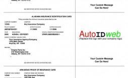 003 Singular Auto Insurance Card Template Pdf High Definition  Car Fake Geico Filler