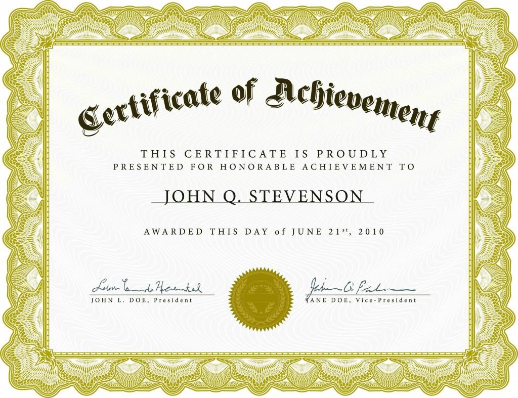 003 Singular Certificate Of Recognition Template Word Design  Award Microsoft FreeLarge