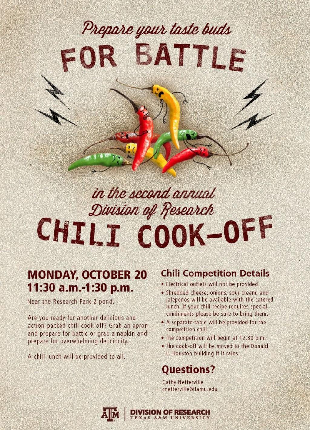 003 Singular Chili Cook Off Flyer Template Design  Halloween Office PowerpointLarge