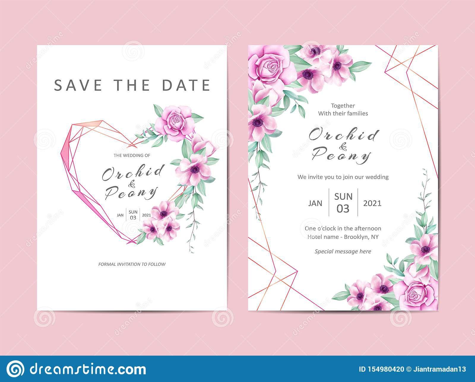 003 Singular Editable Wedding Invitation Template Photo  Templates Tamil Card Free Download Psd OnlineFull