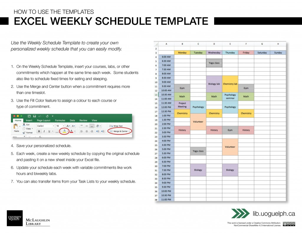 003 Singular Excel Weekly Planner Template Highest Quality  Meal Appointment Calendar FreeLarge