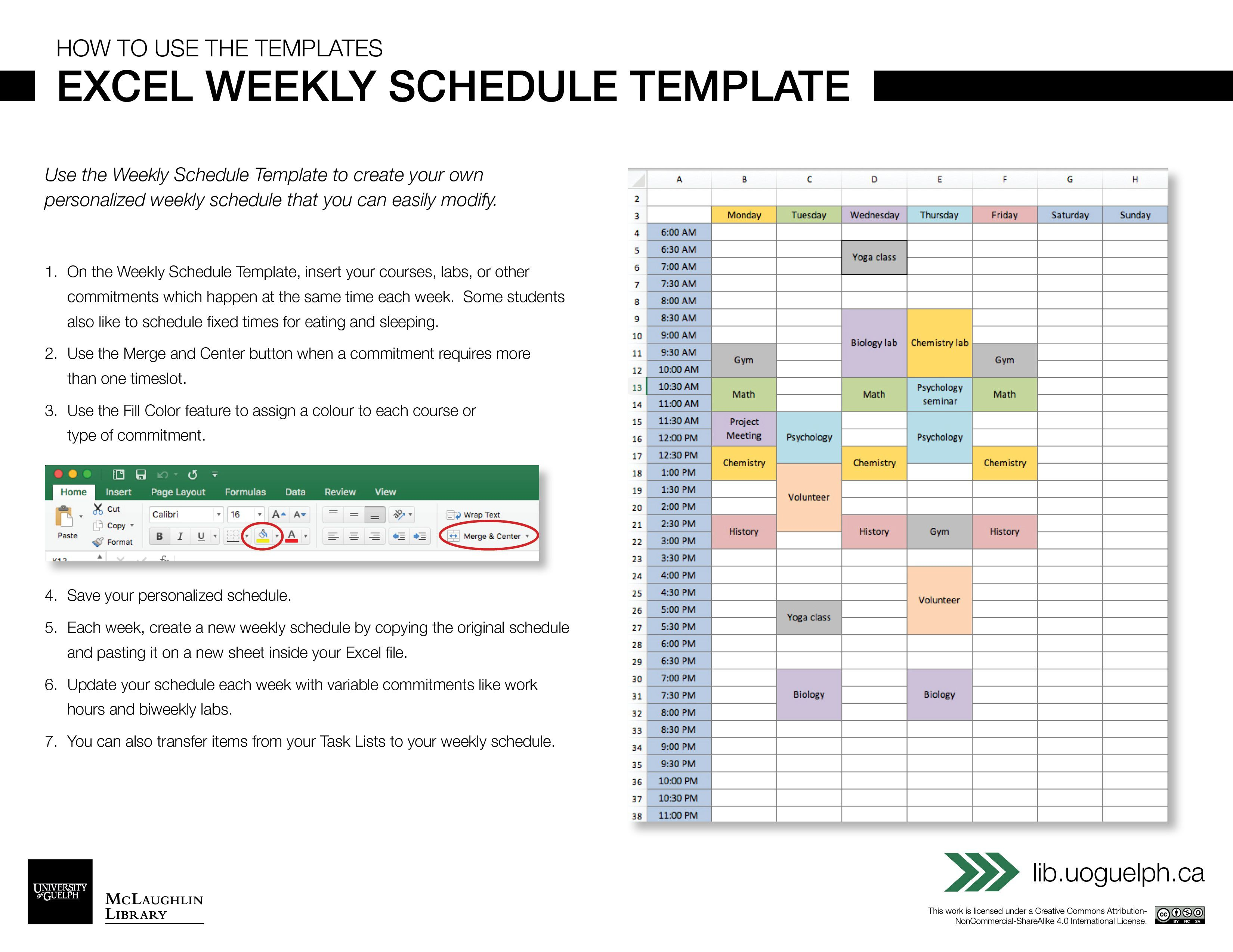 003 Singular Excel Weekly Planner Template Highest Quality  Meal Appointment Calendar FreeFull