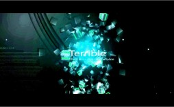 003 Singular Free Adobe After Effect Logo Intro Template High Definition  Templates