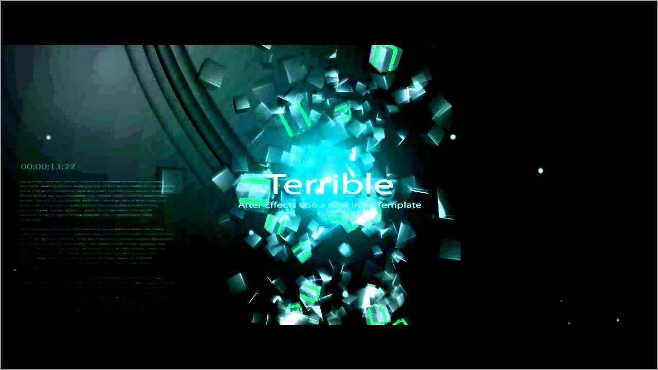 003 Singular Free Adobe After Effect Logo Intro Template High Definition  TemplatesFull