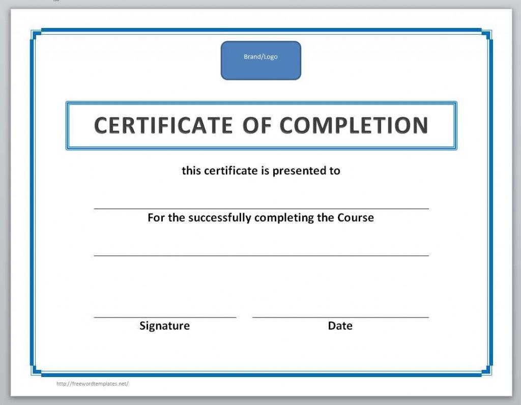 003 Singular Free Certificate Template Word Example  Blank For Microsoft Award Border DownloadLarge