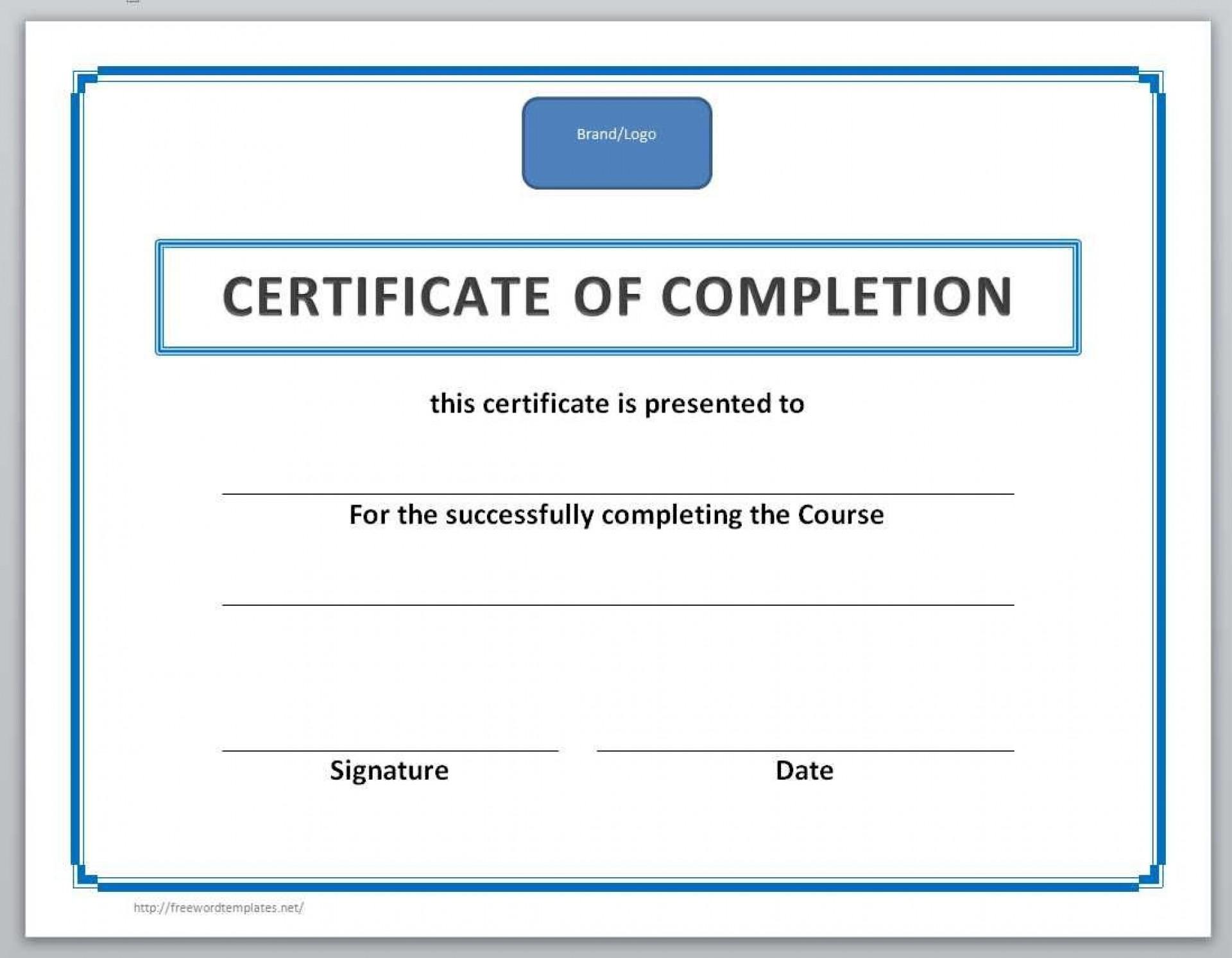 003 Singular Free Certificate Template Word Example  Blank For Microsoft Award Border Download1920