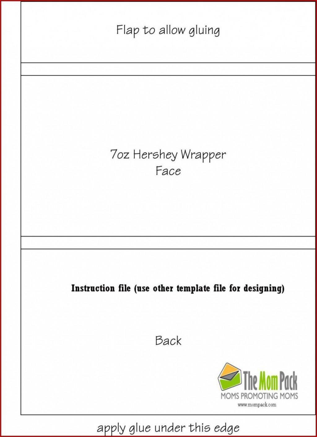 003 Singular Free Chocolate Bar Wrapper Template Word Idea  ForLarge