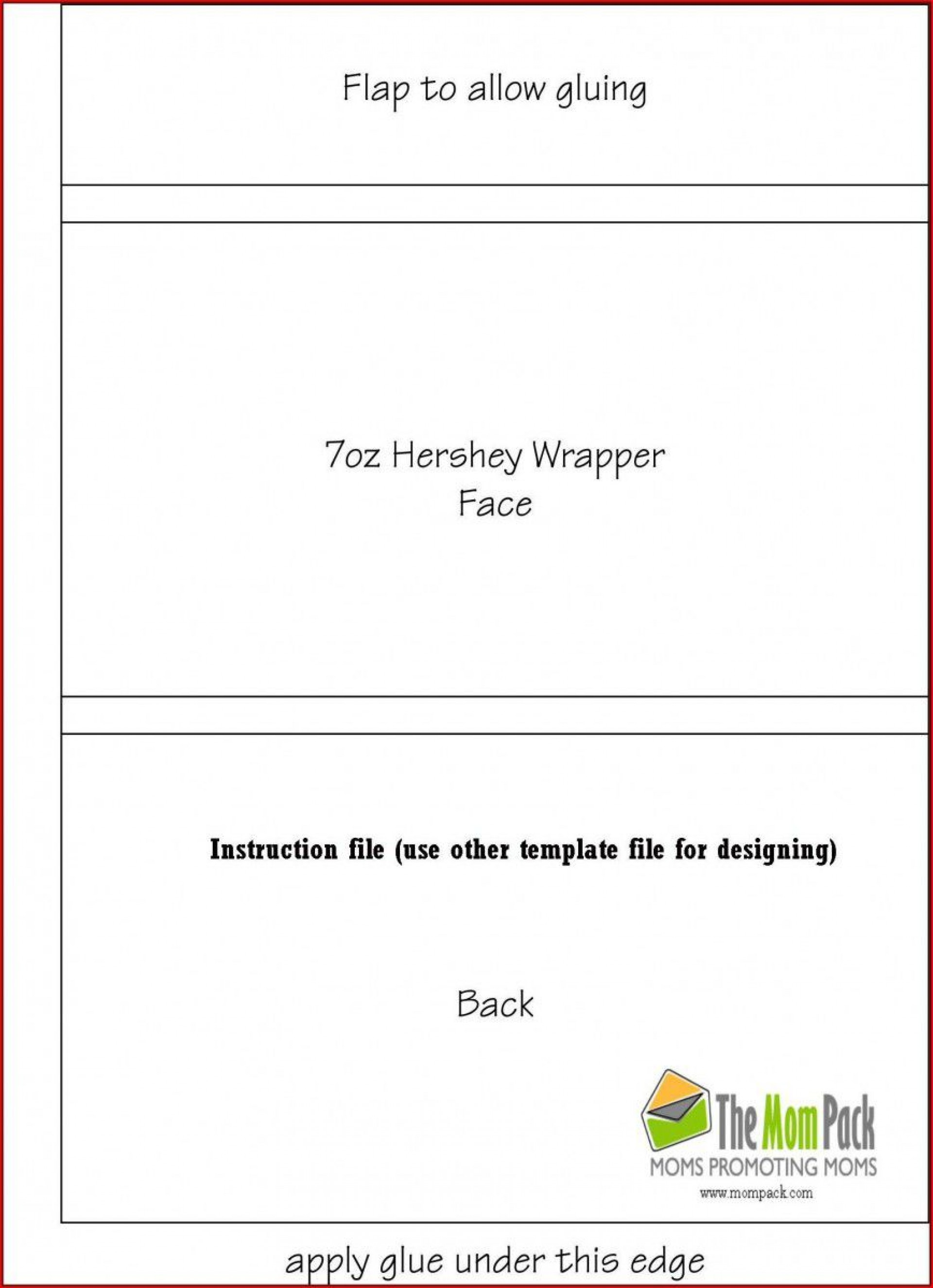 003 Singular Free Chocolate Bar Wrapper Template Word Idea  For1920